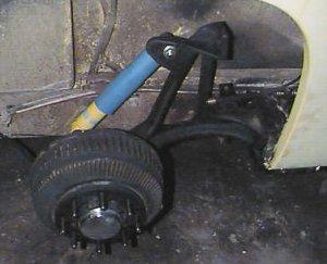 gmcmotorhome com - Rear Suspension Rebuild